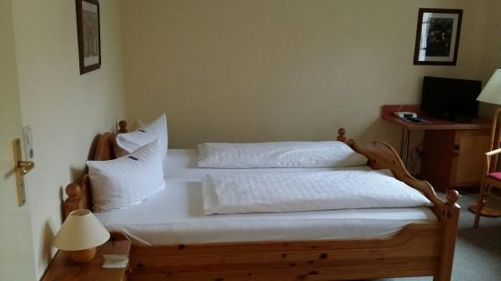 Hotel Ostseeland: Doppelbett