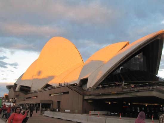 Novotel Sydney Central: l'opéra soleil couchant