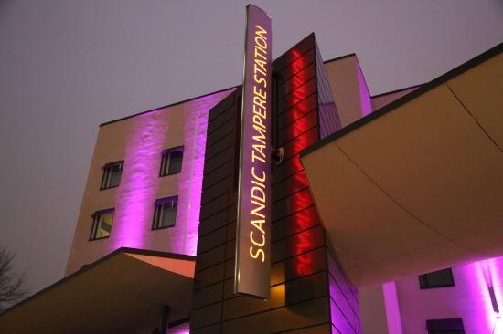 Scandic Tampere Station : Outside