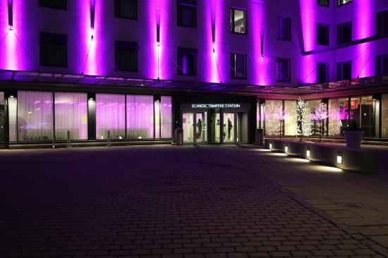 Scandic Tampere Station : Outside the hotel