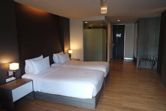 Trinity Silom Hotel: Bedroom