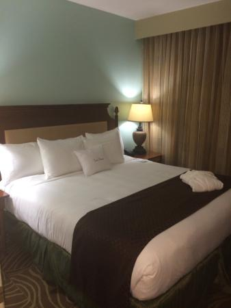 Doubletree Suites by Hilton Naples: Luxurious bed!