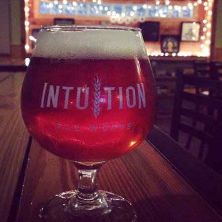 Intuition Ale Works: Beautiful double IPA. Happy 4th Anniversary!!