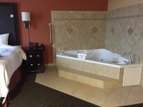 Hampton Inn & Suites Waco South: Large spa in room