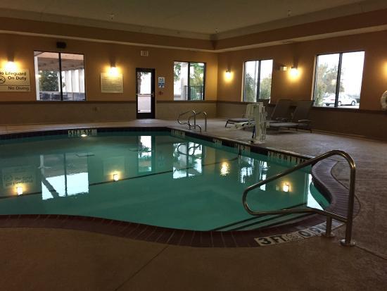 Hampton Inn & Suites Waco South: Indoor pool and spa