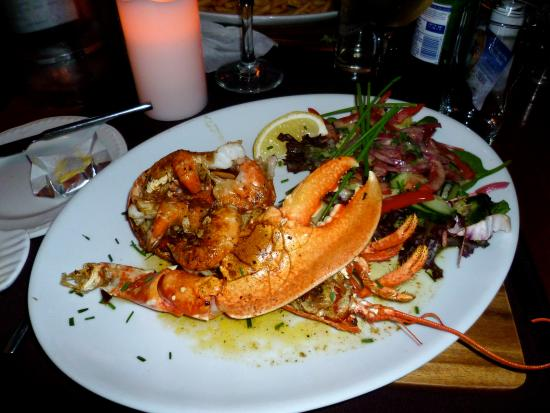 Roseville Bistro: Lobster meal