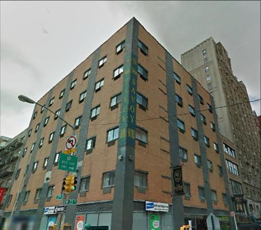 Chelsea Savoy Hotel : Detalhe do prédio fotografado pelo meu marido.
