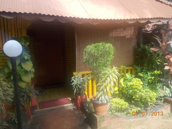 Kerala Bamboo House: bamboo cottage from outside