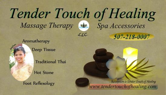 business golden touch massage therapy