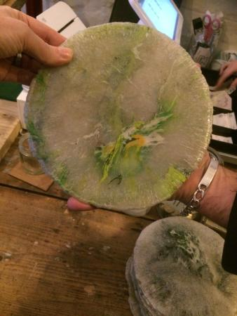 SILO Brighton Kiln-fired recycled plastic bags make great plates & Kiln-fired recycled plastic bags make great plates - Picture of SILO ...