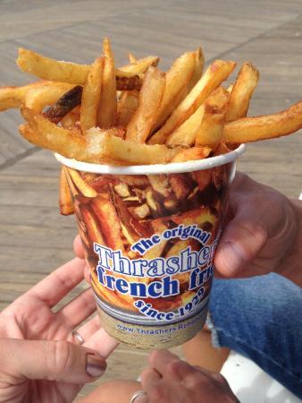 Thrasher's French Fries: Fries! Yum!