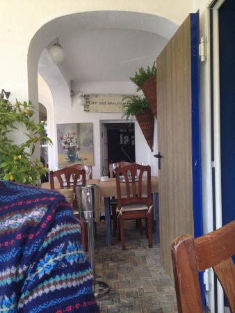 Villa Marina Sitges: La preciosa terraza