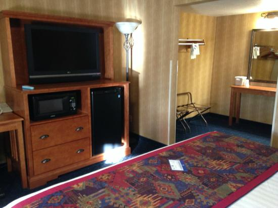 Best Western Travel Inn: king room