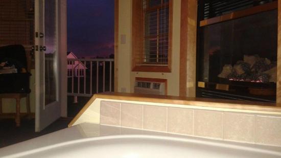 Birchwood Lodge: View from whirlpool