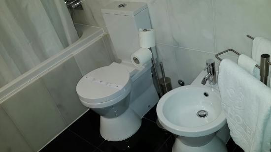 Vip Executive Saldanha Hotel: Casa de banho impecável