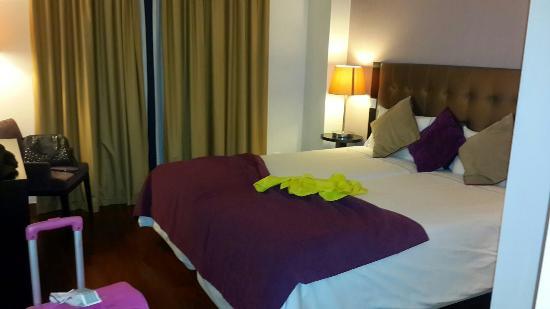 Vip Executive Saldanha Hotel: Quarto pequeno mas acolhedor