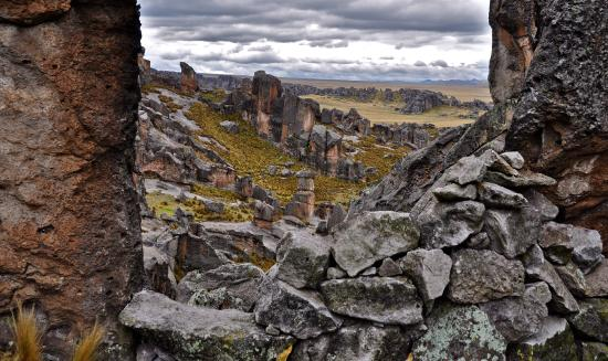 Pasco Region, Peru: Huayllay rock forest