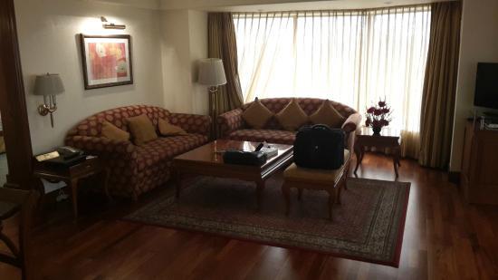 Ramada Plaza Palm Grove: Sitting room