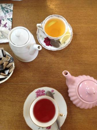 The Hideaway Cafe: Tea for two