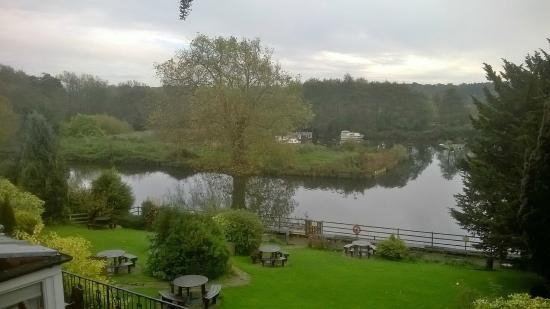 Innkeeper's Lodge Norwich: view from room 11