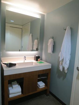 Bathroom Vanities Honolulu vanity area (separate from the bathroom) - picture of hyatt place
