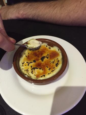 A Angelo Marcelo: Spanish Creme Brûlée! Absolutely gorgeous made with milk instead of cream!