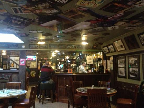 Raglan Road: One side of the large bar area