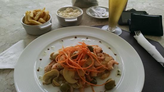 Hotel Manibu Recife: um belo peixe com camarão...