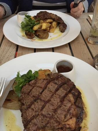 Citation: Delicious steaks!