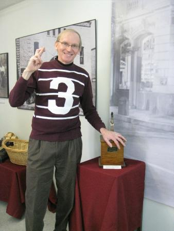 Fan During The Won Life Weekend With His Home Made George Bailey Football Jersey Picture Of It
