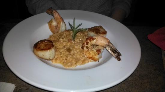 Pogreba Restaurant: Scallop Shrimp Risotto