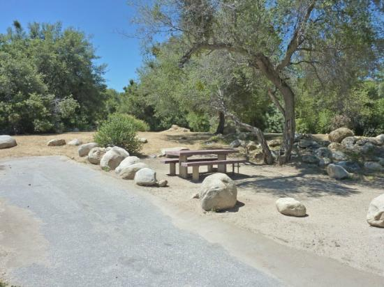 Tillie Creek Campground: Tables