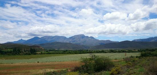 Die Gat Guest House: View on the drive to the guesthouse