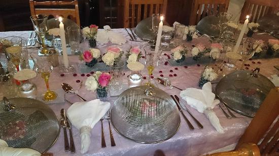 Die Gat Guest House: Dinner table