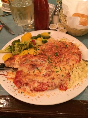Peter's on Eglinton: Chicken parma ! huge portion!