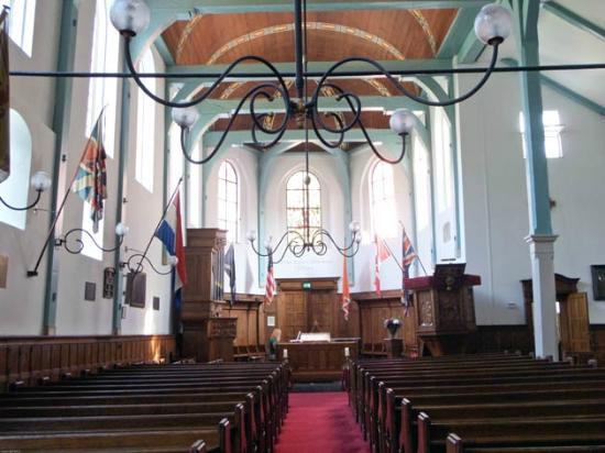 English Reformed Church : the interior