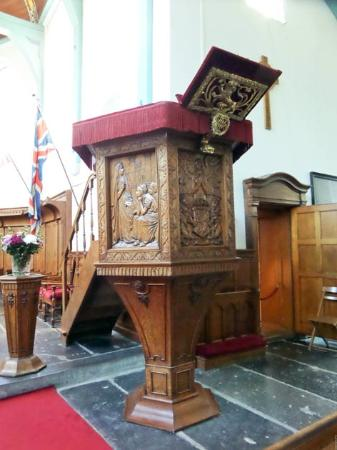 English Reformed Church : the pulpit