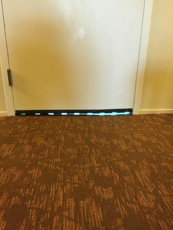 Sheraton Suites Tampa Airport Westshore: Gap under my door