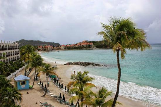 Belair Beach Hotel: View from the room and property next door!
