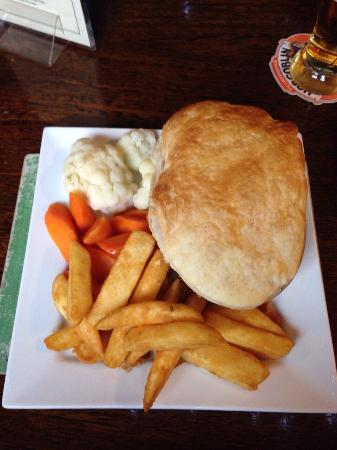 The Bell: Steak & Ale Pie is the best
