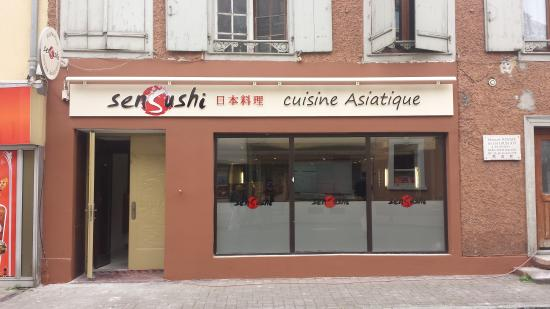 Sensushi Restaurant Asiatique
