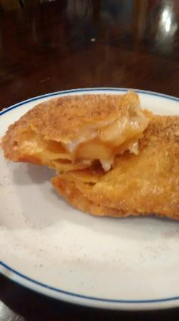 Chuck's Southern Bar-B-Q: Fried apple pie. Made fresh everyday