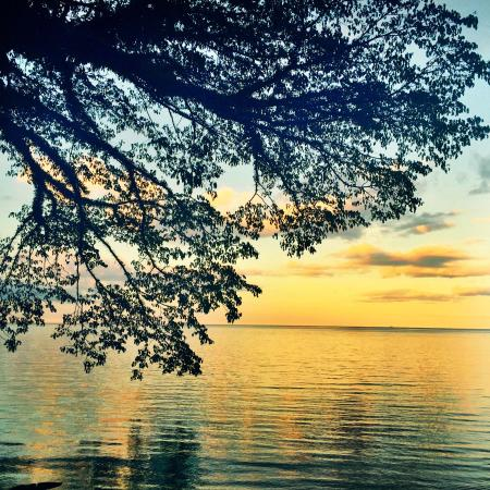 Sunset at Walindi