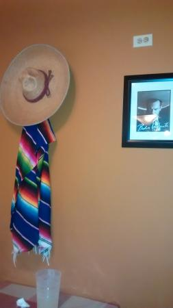 Old Mexico Taco Buffet: decorations