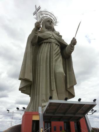 Estatua de Santa Rita de Cassia
