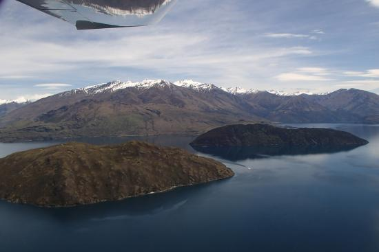 U-Fly Wanaka: View from the air