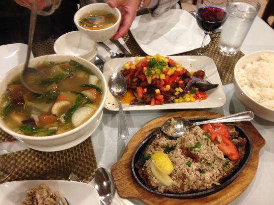 Lovely Patio Filipino: Bangus Sisig And Crispy Binago Ongan