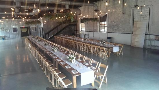 The Brick Great For Wedding Receptions Holds 300 Seated Or 425 A Standing