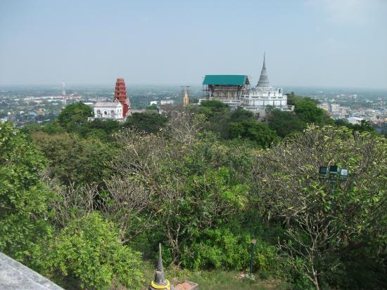 Temples on hill - Picture of Khao Wang (Phra Nakhon Khiri ...
