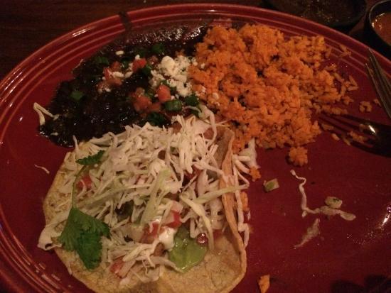 SOL Mexican Cocina: fish tacos